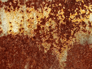 Óxido, corrosión, manchas de oxidación